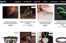 Ékszer webáruház, webshop árukészlettel eladó