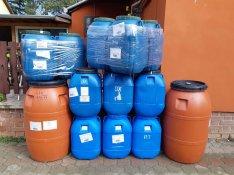 Eladó 60 és 220 l műanyag hordó ajándék darab és ingyenes szállítással