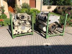 Eladó Mercedes MTU ipari motor 837-500 V8 Turbó 30000cm3