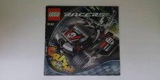 Eladó: Lego Racers 8140 vontató romboló használt