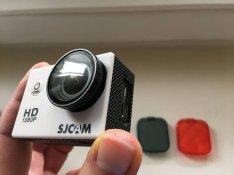 Eladó akciókamera kiegészítők (Szűrők, lencsevédők, mikrofon kábel)