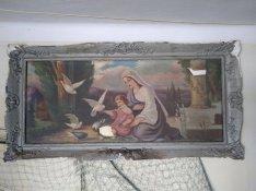 Eladó egy igazán régi festmény