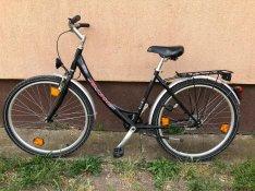 Eladó mély vázas 26 női kerékpár ingyenes kiszállítással remek áron