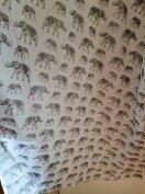 Elefánt mintás függöny eladó