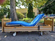 Elektromos betegágy kórházi beteg ápolási ágy gyógyágy Hosszú: 210 cm