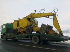 Emelőgép, Markoló, Traktor, Targonca, Gépszállítás, 12 T ig!