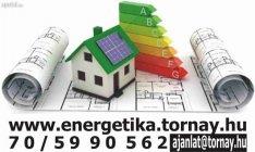 Energetikai tanusítvány Most