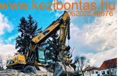 Épület bontás (épületbontás) bontás