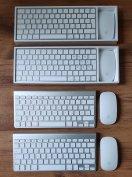 Eredeti - újszerű Apple bluetooth Magic Mouse és Keyboard - garancia