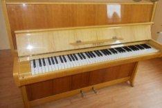 Eredeti díjazott/Petrof 114/acéltőkés angolmechanikás modern pianínó