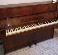Eredeti díjazott/Scholze 114/acéltőkés angolmechanikás modern pianínó