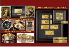 Értékes Ajándékok: Arany Bankjegy, Luxus Karóra, Festmény, Szobor, stb