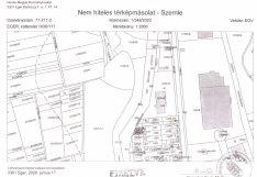 Északi városrészeen  1356 nm-es  telek  eladó