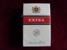 Extra füstszűrős cigaretta 1 bontatlan doboz