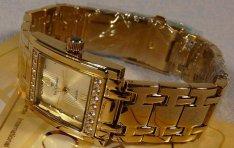 Extra ritka új svájci arany luxus női karóra, exkluzív aranyóra