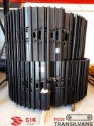 Fém lánctalp rászerelhető papuccsal Komatsu PC120 kotrógép számára