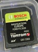 Ford FX navigációs szoftver SD kártya Európa 2020
