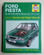 Ford Fiesta, Van, Courier, Combi, Mazda 121 javítási könyv (1995-2002)
