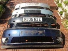 Ford fiesta 2002-2005-ig első lökhárítók 1 és 2 részes is!