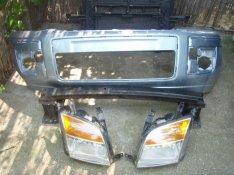 Ford fusion 2005 - 2009 - ig fekete bontott eleje karosszéria!