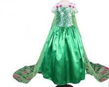 Frozen Jégvarázs Elsa Elza Anna farsangi ruha jelmez új