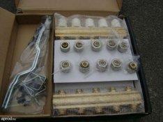 Fűtési rendszerbe osztó-gyűjtő és radiátor szelep eladó (új)