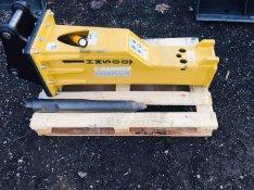 Gázdugattyús Hammer HM500 hirdraulikus bontókalapács törőfej , 1. Kép