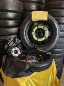 Gyáriúj Volvo Mankókerék Pótkerék Emelő Szett Kerékkulcs Vonószem