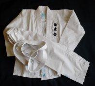 Gyermek karateruha eladó! Újszerű!