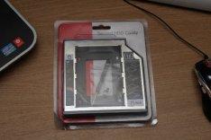 HDD SSD Winchester Caddy 12.7mm , Laptop Beépítő Keret SATA