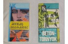 HK határőrös könyvek (2 db)
