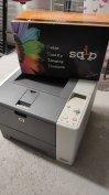HP hálózati laser nyomtató +új toner