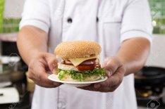 Hamburger készítő állás