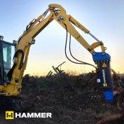 Hammer SB300 Hidraulikus Bontókalapács, Törőfej Jcb Cat Bobcat Komatsu
