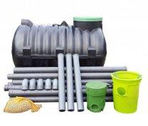 Házi szennyvíz tisztító tartály (szett)