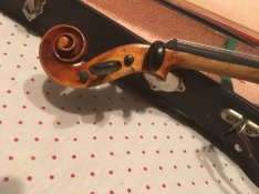 Hegedű 3/4-es mesterhegedű