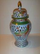 Herendi antik Phoenix váza. 24 cm