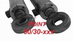 Hidraulikus Munkahenger 50/30 Point Löket 100-1000 mm