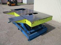 Hidraulikus emelő asztal 8000 kg emelőasztal ollós ollósemelő (989)