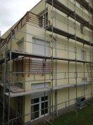 Homlokzati állvány építés, bérbeadás