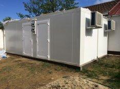 Hűtőkamra, Vadhűtő, Hűtőkonténer gyártása
