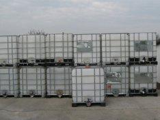 IBC 1000l műanyag víztartályok eladók