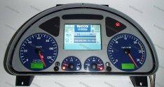 IVECO Stralis Trakker Eurotech kilométeróra javítás, műszeregység