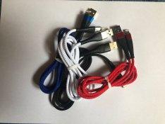 Iphone USB töltő és adatkábel 2.4A 1 méter