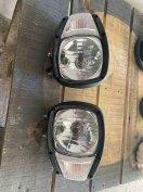 Irányjelzővel egybe épített lámpa