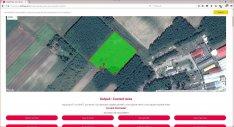 Izsákon, 1,25 hektár szántó eladó