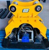 Jcb 3CX 4CX 8050 - 8085 Lapvibrátor 300kg Komatsu Volvo CAT
