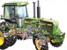 John Deere 4650 4755 4955 bontott,felújított,és új alkatrészek eladók!
