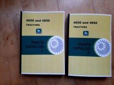 John Deere 4650, 4850 alkatrészkatalógus