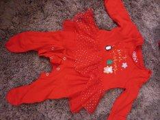 Karácsonyi szett baba